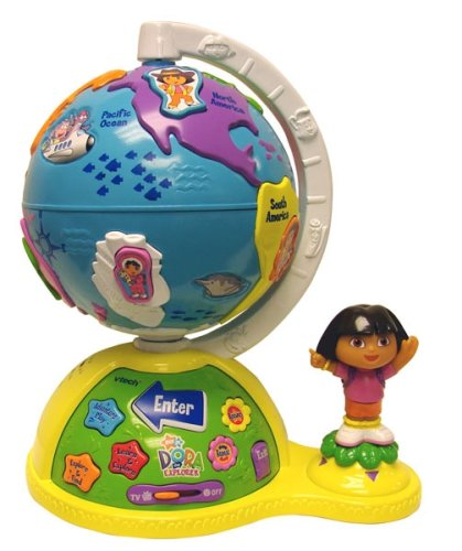 VTech Dora The Explorer TV Adventure Globe - Buy VTech Dora The Explorer TV Adventure Globe - Purchase VTech Dora The Explorer TV Adventure Globe (VTech, Toys & Games,Categories,Electronics for Kids,Learning & Education,Toys)