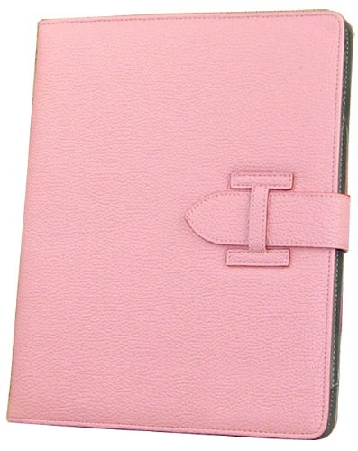 Yupengda Pink Pu Leather Folio Stand Case Cover For Apple Ipad Air Ipad 5(Without Auto Wake/Sleep Smart Cover Function)