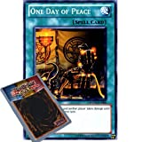 YuGiOh : PHSW-EN060 1st Ed One Day of Peace Common Card - ( Photon Shockwave Yu-Gi-Oh! Single Card )