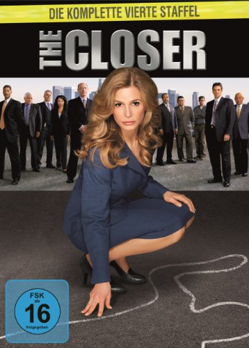 The Closer - Staffel 4 [4 DVDs]