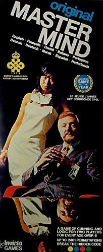 """Vintage Original Mastermind 1972 """" Game of the Year!"""" by Invicta by Invicta Plastics Leicester, England"""