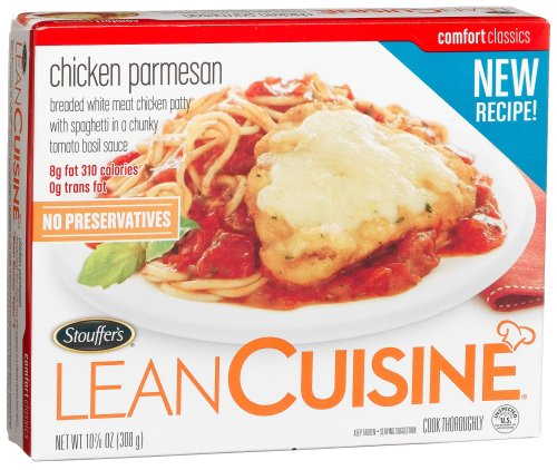 Would buying Lean Cuisine meals instead of Nutrisystem or Jenny Craig work?