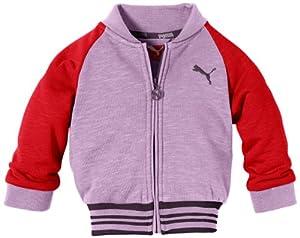 PUMA Baby's Baseball Jacket Infant Purple Lavendula Size:18-24 months