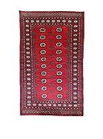 L'Eden del Tappeto Alfombra Kashmirian Rojo / Azul 220  x  135 cm