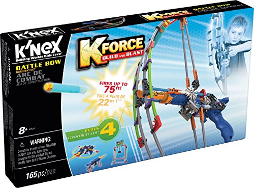 K'NEX K-Force Battle Bow Building Set, 165 pieces JungleDealsBlog.com