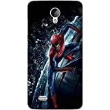 Takkloo Warrior Super Hero,red Mask, Man With Mask, Man With Super Power, Spider) Printed Designer Back Case Cover For Vivo Y21L