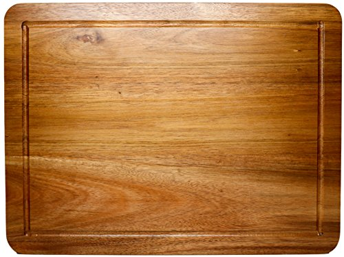Somarian Acacia Wood Chopping Board, Large (Wood Cutting Board Large compare prices)