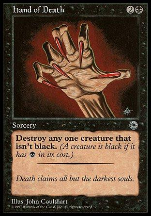 Magic: the Gathering - Hand of Death (Reminder text) - Mano della Morte - Portal
