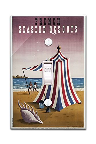 french-seaside-resorts-vintage-poster-artist-picart-le-doux-france-c-1947-light-switchplate-cover