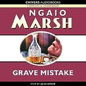 Grave Mistake | [Ngaio Marsh]