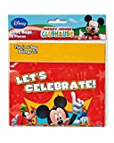 Mickey Mouse Clubhouse Treat Bags, Pack of 8, Party Supplies
