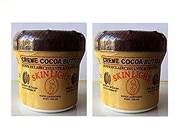 Skin Light (Creme Cocoa Butter) Super Lightening Body Cream 500ml (Pack of 2))