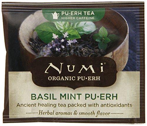 Numi Basil Mint Pu-Erh, 100 Count