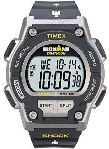 Timex T5K195SU - Reloj de cuarzo para hombres, correa de resina, color...