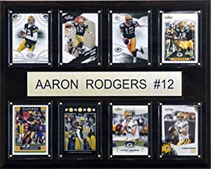 C&I Collectables NFL Green Bay Packers 8 Card Plaque by C&I Collectables