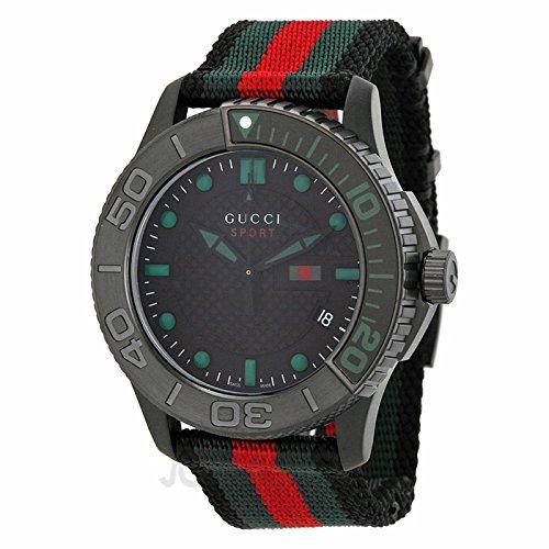 Gucci Gucci G intemporal Nylon correa Mens Reloj YA126229