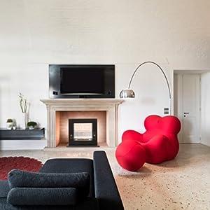 Celina Bio-ethanol Environmentally-friendly Contemporary Indoor or Outdoor Fireplace
