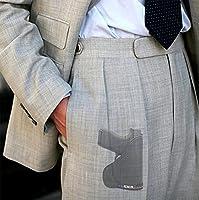 GLOCK 42 G42 .380 Custom Fit Leather Trimmed orGUNizer Poly Pocket Holster For Concealed Carry Comfort