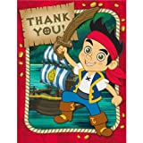 Jake and the Never Land Pirates Thank-You Notes (8pc)