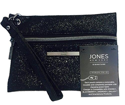 jones-new-york-signature-black-sequin-charging-wristlet