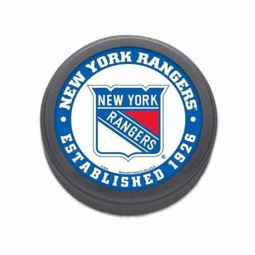 NHL-hockey-puck-New-York-Rangers