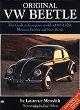 Laurence Meredith The Original Vw Beetle (Original series)