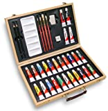 35 Piece Oil Painters Art Set Has All The Essentials And Makes A Great Gift