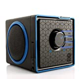 GOgroove SonaVERSE BX Rechargeable Portable Stereo Speaker System w/ 3.5mm Aux Port for Phones , Tablets , MP3 Players , Laptops , Handheld Game Consoles , Portable DVD Players &amp; More Devices