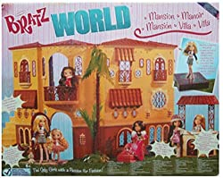 Bratz World Mansion with Interior Lighting and Mirror Ball + More