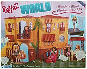 Bratz World Mansion Dollhouse Huge Playset
