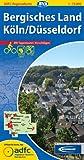 ADFC-Regionalkarte Bergisches Land/Köln/Düsseldorf mit Tagestouren-Vorschlägen, 1:75.000, reiß- und wetterfest, GPS-Tracks Download