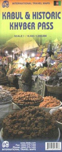 Kabul & Historic Khyber Pass 1:16,500/1,000,000 (International Travel Maps)