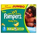 Pampers Baby Dry Size 5 (11-25kg) Jumbo Pack�66 per pack