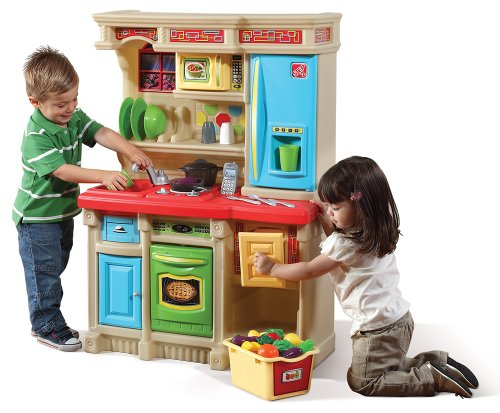 Step2 custom brights kitchen set best deals toys for Kitchen set deals