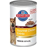 Hills Science Diet Adult Gourmet Chicken Entree Dog Food, 13-Ounce Can, 12-Pack