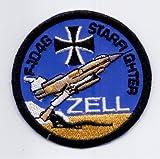 PATCH,TOPPA RICAMATA TERMOADESIVA F-104G STARFIGHTER ZELL