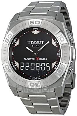 Tissot T-Touch Racing Stainless Steel Mens Watch T0025201105100