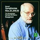 Mozart : Symphonies Nos 25, 31, 'Paris' & 41, 'Jupiter'