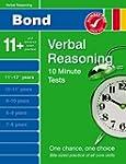 Bond 10 Minute Tests Verbal Reasoning...