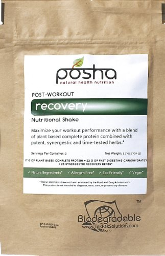 Posha All Natural Post-workout Recovery (2 Servings)
