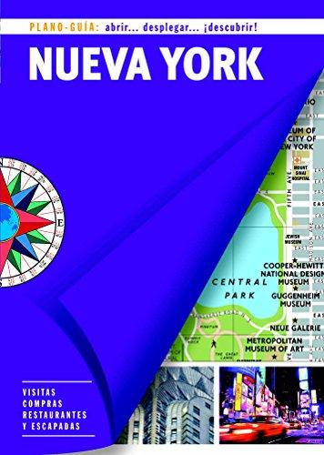 Nueva York. Plano-Guía - 12ª Edición. 2016 (SIN FRONTERAS)