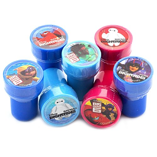 Disney Big Hero Premium Quality Stampers Party Favors (10 Stampers)