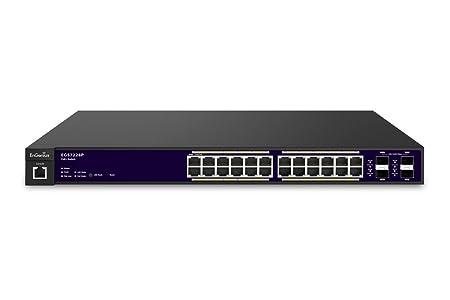 EnGenius EGS7228P Switch PoE 24 ports Noir