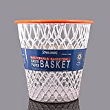 "Basketball Net ""Crunch Time"" NBA Design Wastebasket White One Size"