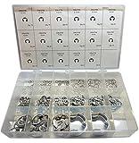 Metric External E-Ring Kit - Stainless Steel
