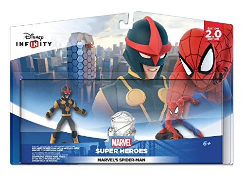 Disney Infinity: Marvel Super Heroes (2.0 Edition) Spider Man Play Set - Not Machine Specific (Captain America Game Xbox 360 compare prices)
