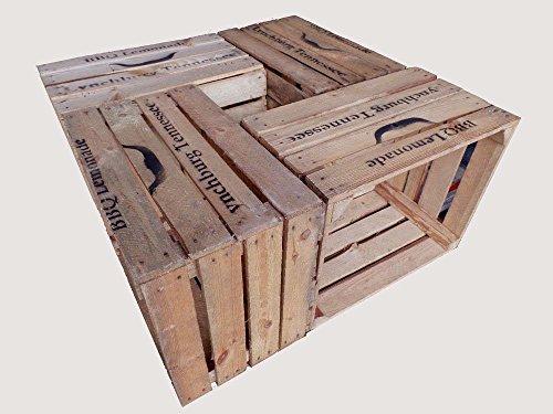 4-Stck-gebrauchte-Holzkisten-Weinkisten-Obstkisten-Lynchburg-Tennessee