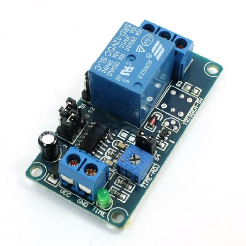 Dc 12V Srd-12Vdc-Sl-C Time Delay Circuit Module Board Blue