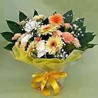 54【父の日ギフト6/13から6/15のお届け】スタンド型花束・ブーケ型アレンジ・イエロー系