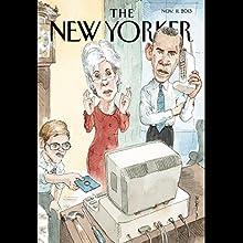 The New Yorker, November 11th 2013 (Nicholas Lemann, Anne Applebaum, John Cassidy)  by Nicholas Lemann, Anne Applebaum, John Cassidy Narrated by Dan Bernard, Christine Marshall